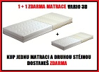 Matrace VARIO 3D 1+1 matrace ZDARMA