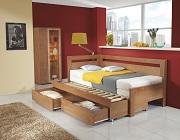 Rozkládací postel s úložným prostorem Ester Tandem
