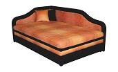 Rohové èalounìné postele