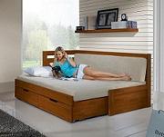Rozkládací postele z bukového masivu