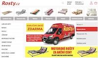 E-shop ROSTY.cz