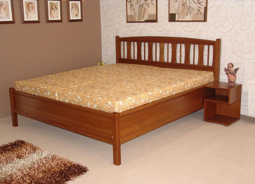 Česká výroba POSTEL Z MASIVU BIG BED