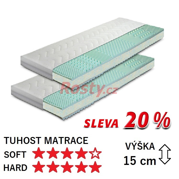 GREEN SLEEP MATRACE DO POSTELE START 1+1 - SLEVA 20%