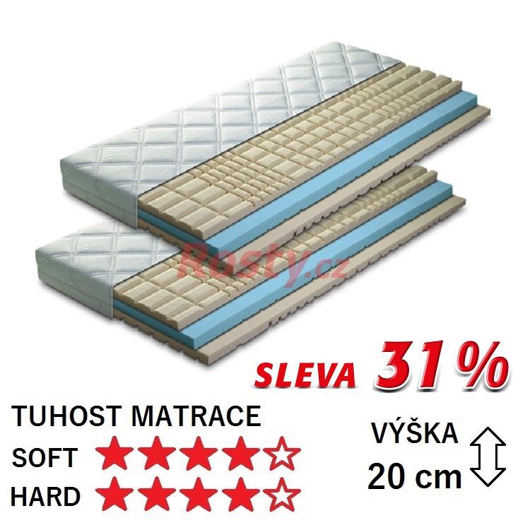 GREEN SLEEP ZDRAVOTNÍ MATRACE SUPER BIO 1+1 - SLEVA 31%