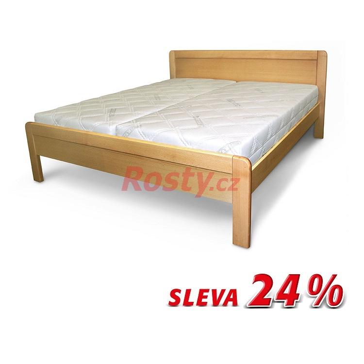 Česká výroba POSTEL Z MASIVU GRACIE