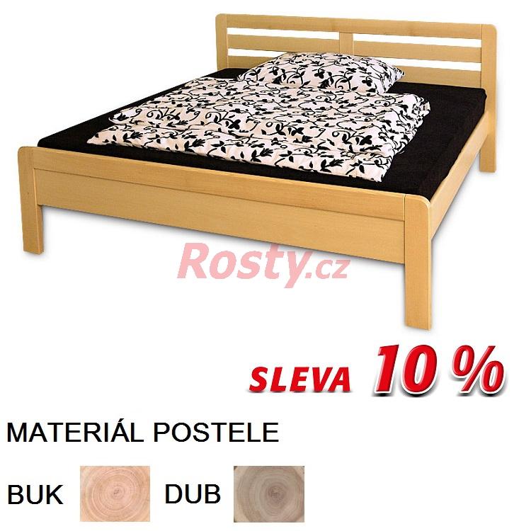 Rosty.cz MANŽELSKÁ POSTEL Z MASIVU RADOST