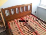 Postel BIG BED v barvě Ořech