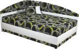 Rohová čalouněná postel