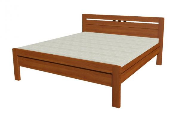 Manželská postel z masivu